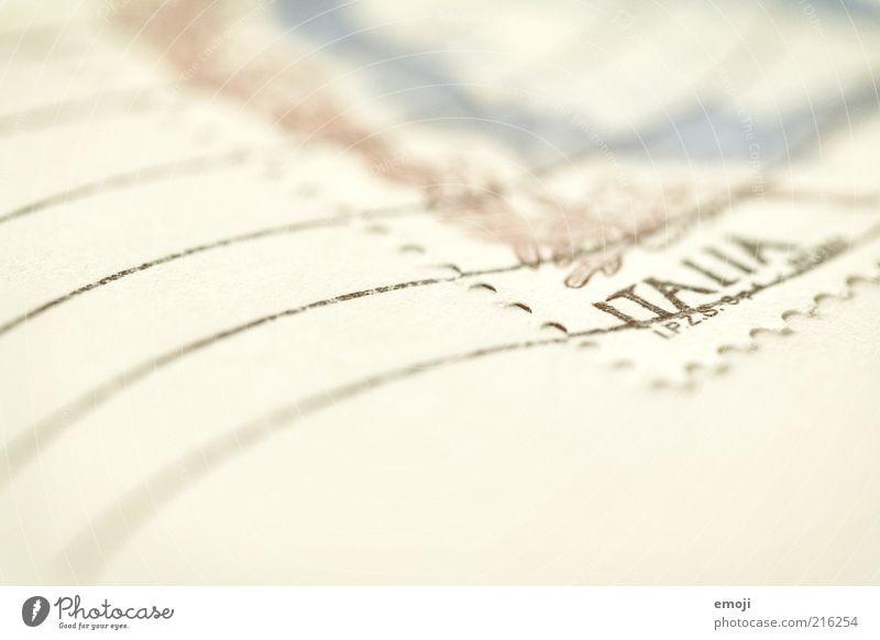 .it weiß Ferien & Urlaub & Reisen Schriftzeichen Italien Ziffern & Zahlen Buchstaben schreiben Zeichen Postkarte Brief Fernweh Erinnerung Souvenir Stempel