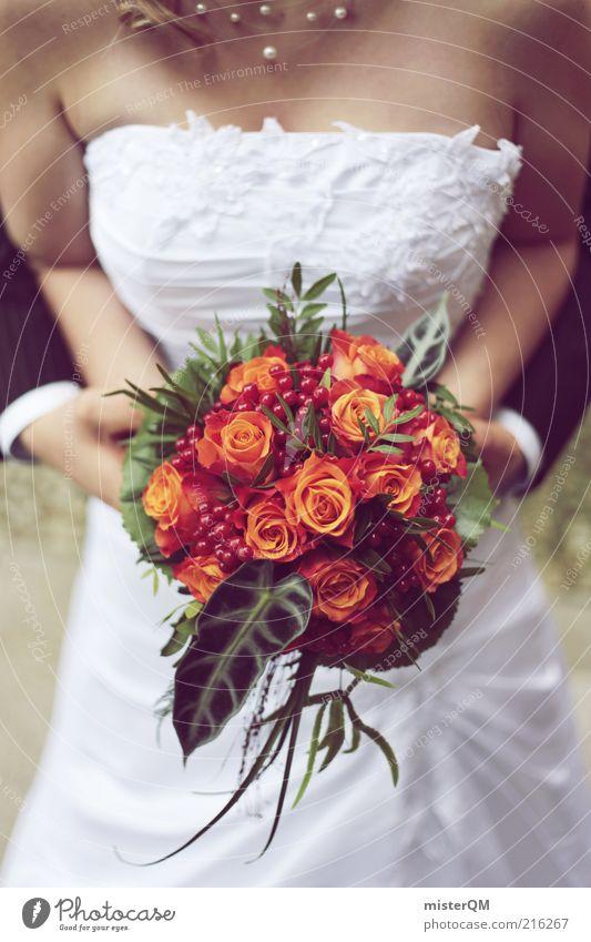 Our Day. Frau Mann Liebe Leben Glück Paar Zufriedenheit Zusammensein Hochzeit Rose ästhetisch Familie & Verwandtschaft Zukunft Blume Verbindung Blumenstrauß