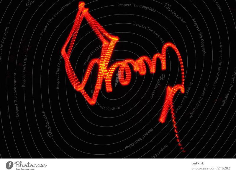 Feuerdrachen^^ schön rot dunkel Spielen glänzend fliegen ästhetisch leuchten Versuch Lenkdrachen Lichtspiel Langzeitbelichtung Experiment Nacht