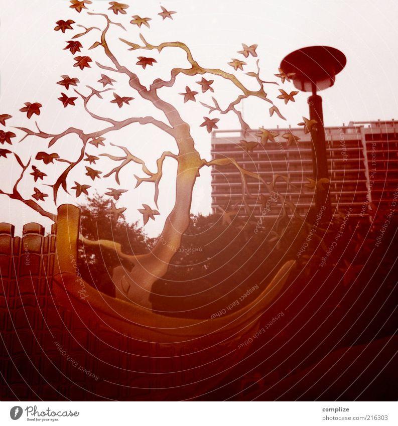 china Baum Berlin Stil Hochhaus Dekoration & Verzierung einzigartig skurril Skulptur Kunst Geäst innovativ Kreuzberg Gebäude Haus Eyecatcher skulptural