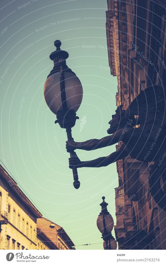 Mephisto alt Stadt Architektur Kunst Tourismus Stadtleben Dekoration & Verzierung Kultur Europa historisch Vergangenheit festhalten Sehenswürdigkeit Bauwerk