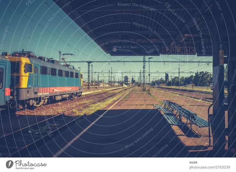 Zurück in die Zukunft Ferien & Urlaub & Reisen Städtereise Kultur Stadt Bahnhof Öffentlicher Personennahverkehr Güterverkehr & Logistik Eisenbahn Lokomotive