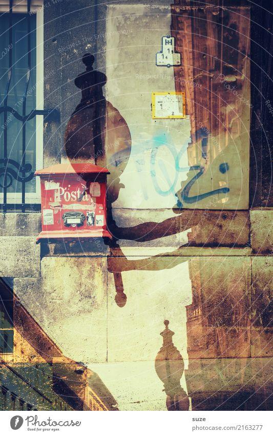 Post Mortem Lifestyle Ferien & Urlaub & Reisen Tourismus Städtereise Kunst Kunstwerk Kultur Stadt Hauptstadt Stadtrand Altstadt Architektur Mauer Wand Fassade