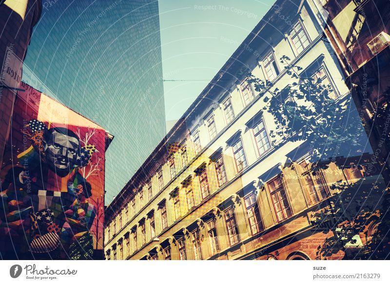 Stadtgalerie Lifestyle Ferien & Urlaub & Reisen Tourismus Sightseeing Städtereise Kunst Kunstwerk Kultur Hauptstadt Stadtrand Altstadt Architektur Graffiti alt