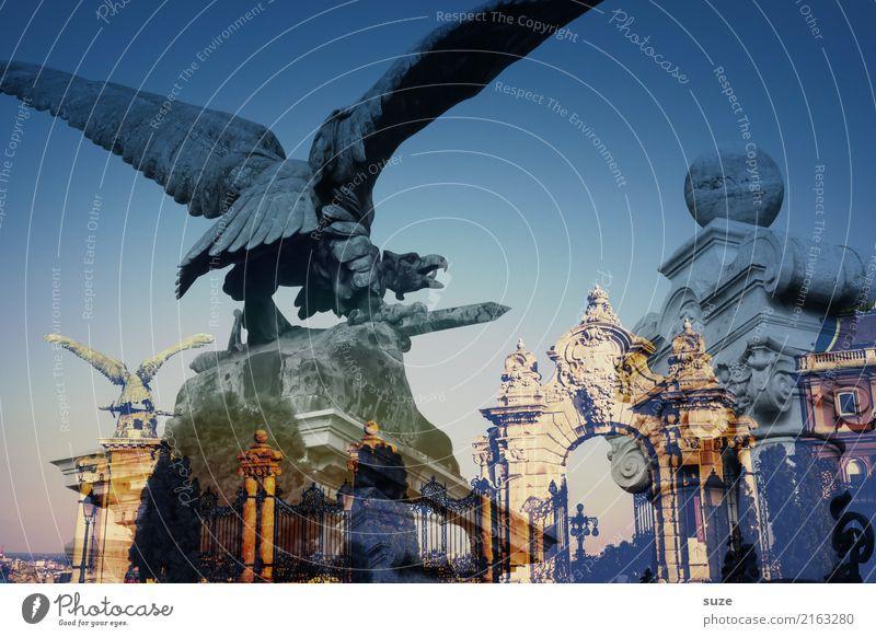 Mythos Turul Tourismus Städtereise Kunst Kunstwerk Kultur Stadt Hauptstadt Stadtrand Altstadt Burg oder Schloss Bauwerk Architektur Sehenswürdigkeit Wahrzeichen