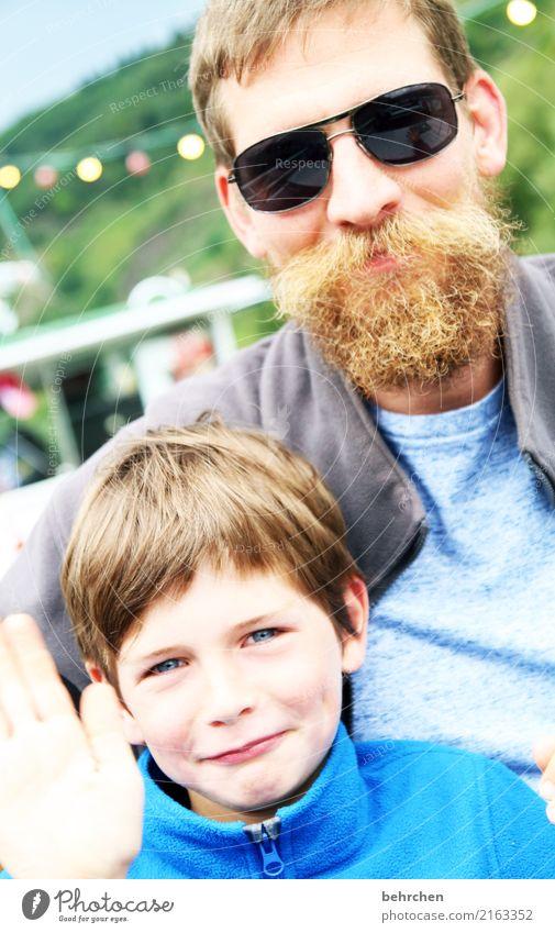 ...der... Junge Mann Erwachsene Eltern Vater Haut Kopf Haare & Frisuren Gesicht Auge Ohr Nase Mund Lippen Bart 2 Mensch 3-8 Jahre Kind Kindheit 30-45 Jahre