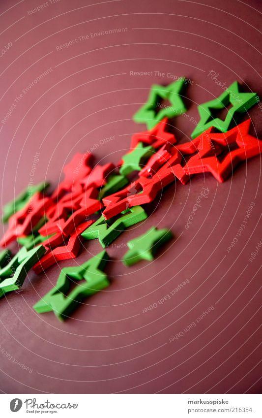 weihnachts sterne Weihnachten & Advent grün rot Stimmung braun Stern (Symbol) Dekoration & Verzierung fantastisch einrichten Weihnachtsdekoration