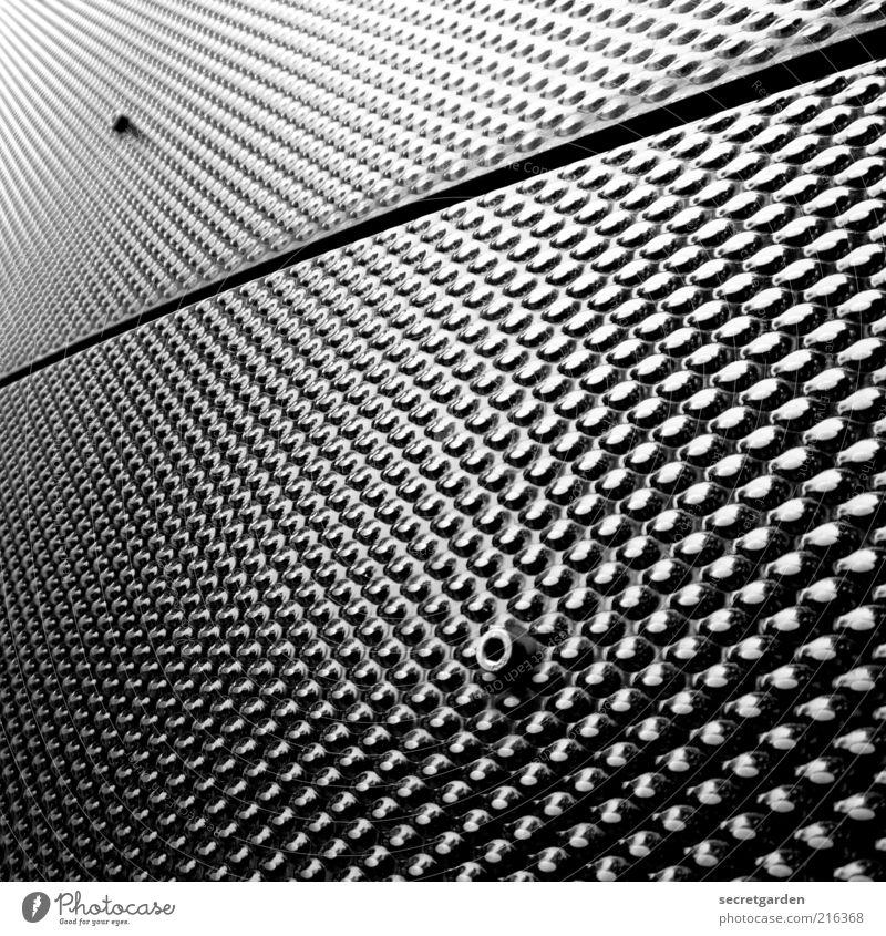 [HH 10.1] profil-neurose. Fortschritt Zukunft High-Tech Industrie Fabrik Gebäude Fassade Metall Linie glänzend ästhetisch kalt rund bizarr Design Genauigkeit
