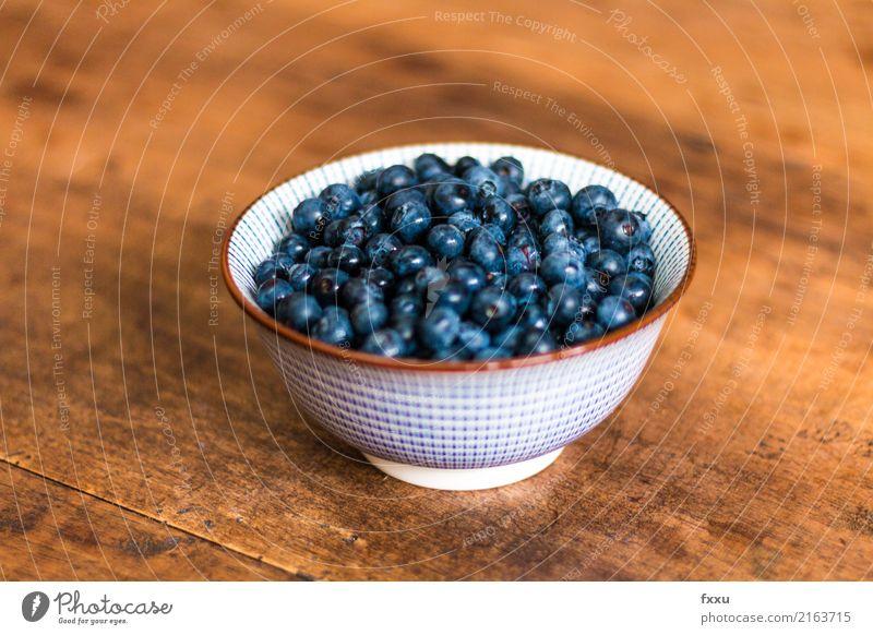 Heidelbeeren in weißer Schale Blaubeeren lecker blau Schalen & Schüsseln Frucht Gesundheit Gesunde Ernährung Gesundheitswesen Vitamin Lebensmittel schön süß