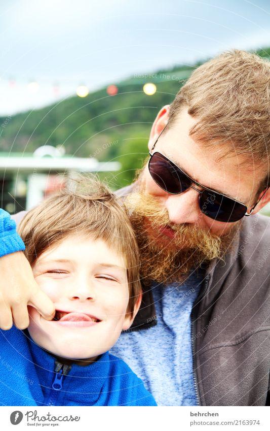 ...dem... Kind Mensch Mann Freude Gesicht Auge Erwachsene lustig Liebe lachen Junge Familie & Verwandtschaft Spielen Glück Haare & Frisuren Kopf