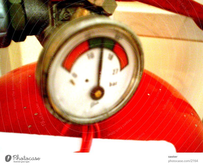 Feuerlöscher Industrie Brand Nahaufnahme Druck