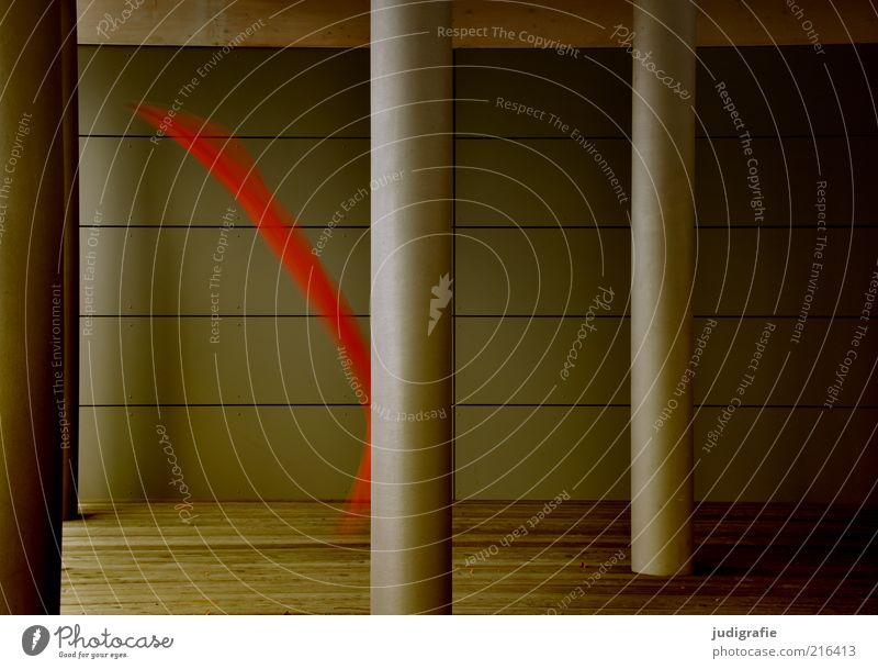 Tanz rot dunkel Wand Architektur Bewegung Mauer Stimmung Tanzen elegant ästhetisch außergewöhnlich weich Leidenschaft skurril Säule Leichtigkeit