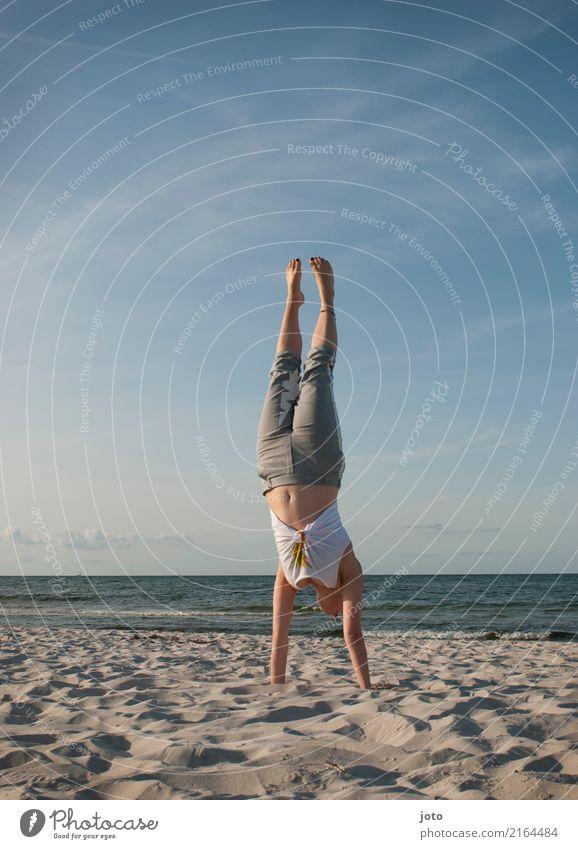 Guten Morgen neuer Tag! Leben harmonisch Wohlgefühl Ferien & Urlaub & Reisen Ausflug Abenteuer Freiheit Sommer Sommerurlaub Sport Fitness Sport-Training Yoga