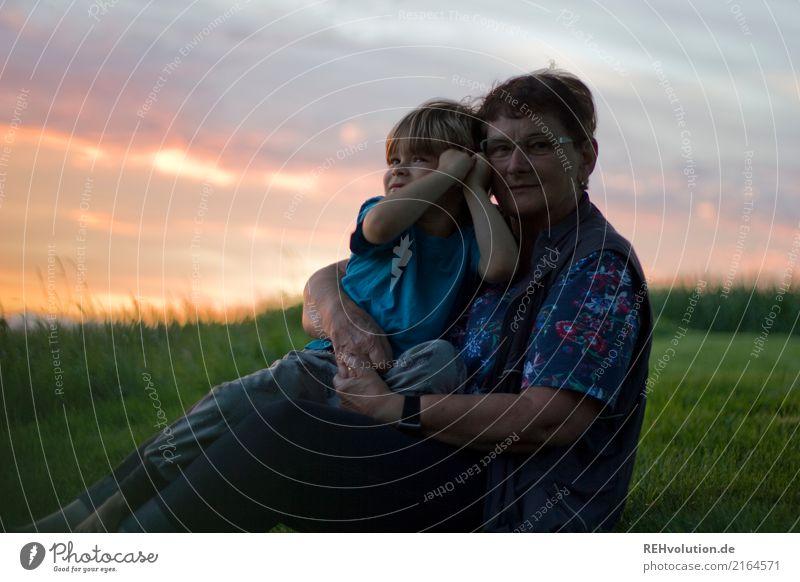 beste oma Mensch maskulin feminin Kind Junge Weiblicher Senior Frau Großmutter Kindheit 2 1-3 Jahre Kleinkind 60 und älter Umwelt Natur Landschaft Himmel Wolken