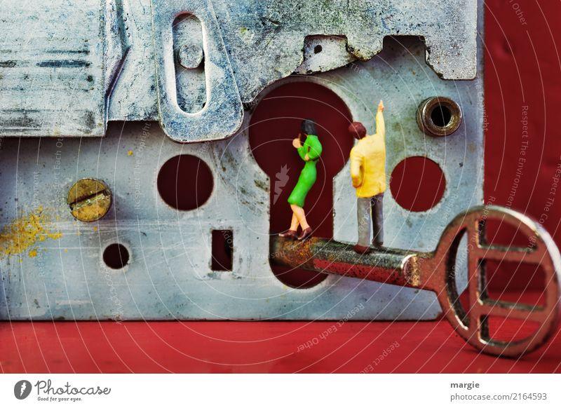Miniwelten - Ich bau dir ein Schloss II Modellbau Häusliches Leben Wohnung Haus Traumhaus Werkzeug Technik & Technologie Mensch maskulin feminin Frau Erwachsene