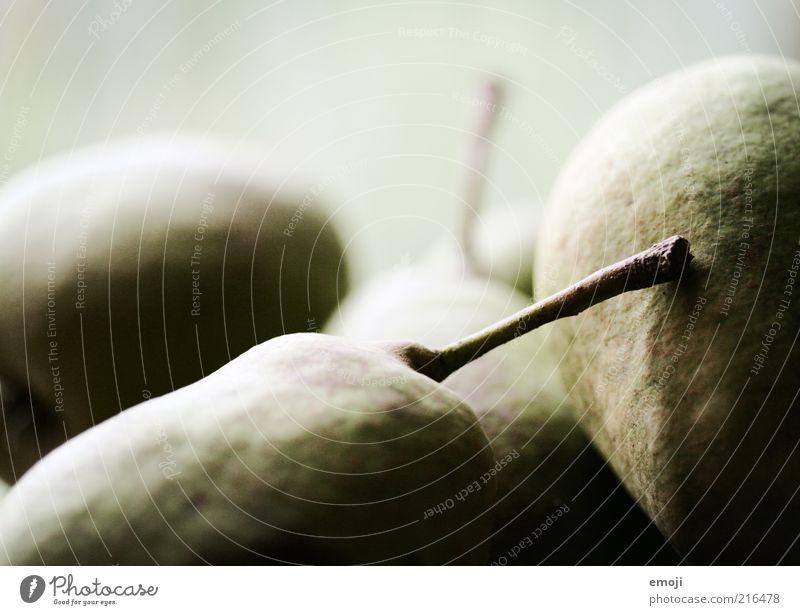 Obst grün braun Frucht Ernährung Gesunde Ernährung Bioprodukte Vegetarische Ernährung Birne Birnenstiel
