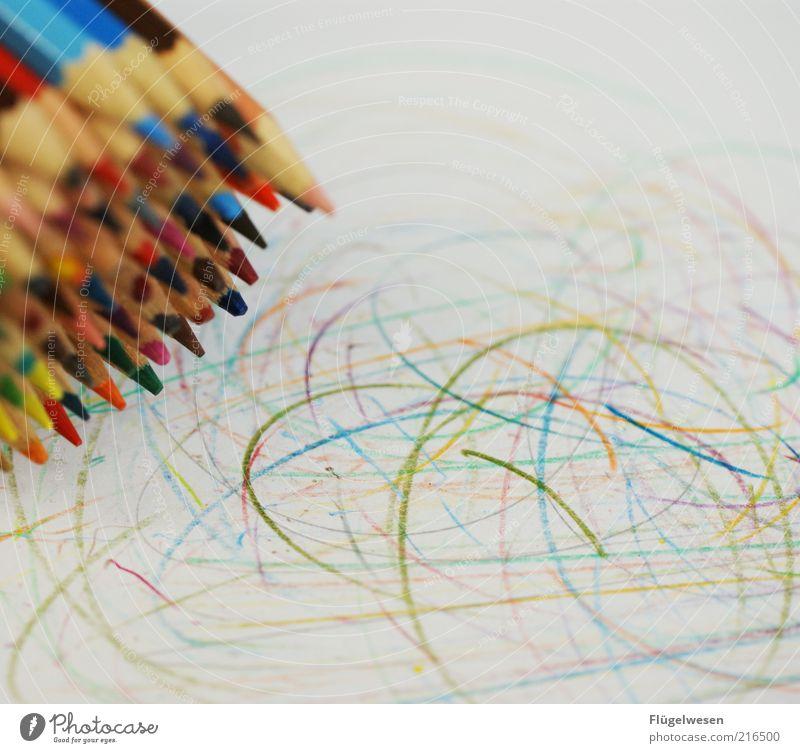 Picasso 2010 Lifestyle Freizeit & Hobby Bildung Kunst Kunstwerk Gemälde Schreibwaren Papier Zettel Schreibstift zeichnen Tatkraft Farbstift malen Farbfoto