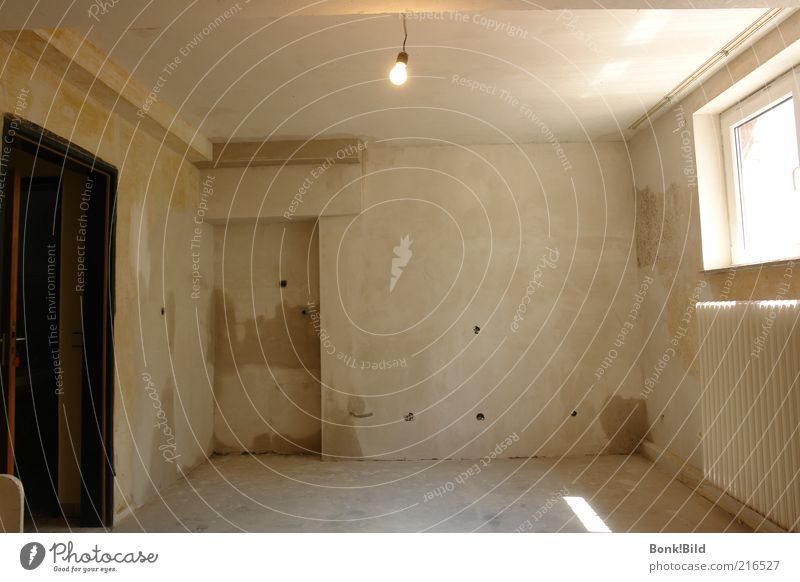 Modern Home-Office (coming soon) Wohnung Hausbau Renovieren Umzug (Wohnungswechsel) einrichten Innenarchitektur Lampe Raum Arbeit & Erwerbstätigkeit Baustelle
