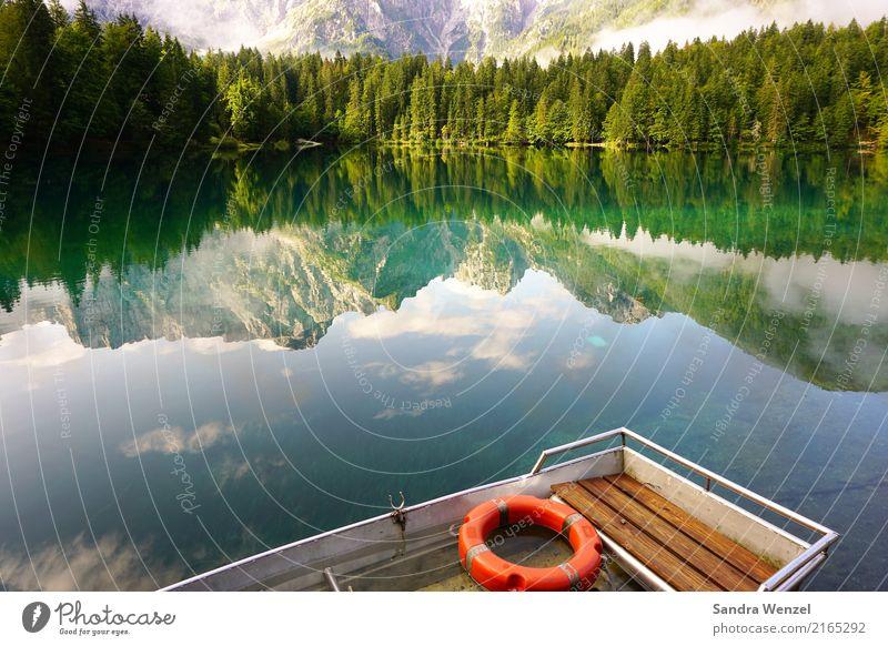Fusine Ferien & Urlaub & Reisen Ausflug Abenteuer Freiheit Sommer Sommerurlaub Sonne Berge u. Gebirge wandern Gebirgssee Umwelt Natur Landschaft Pflanze Wasser