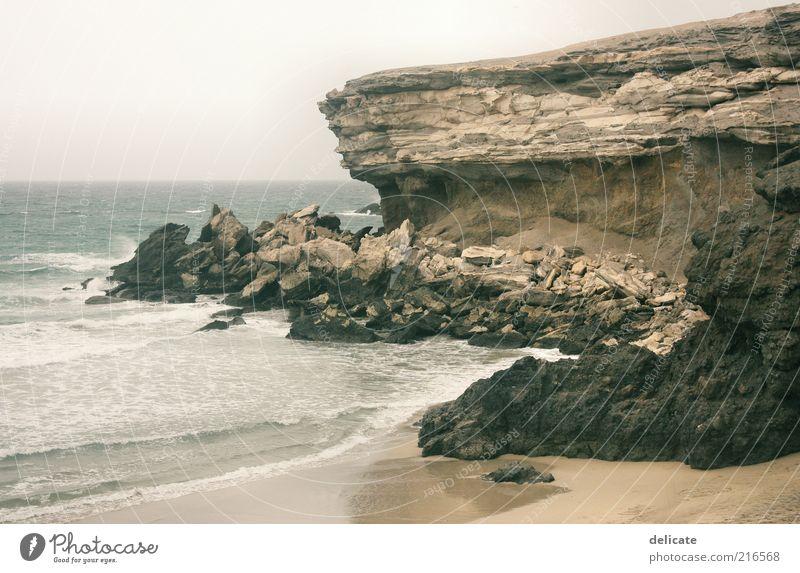 La Pared Natur Wasser Sommer Strand Ferien & Urlaub & Reisen Meer Ferne Freiheit Landschaft Umwelt Sand Stein Küste Wellen Wind Horizont