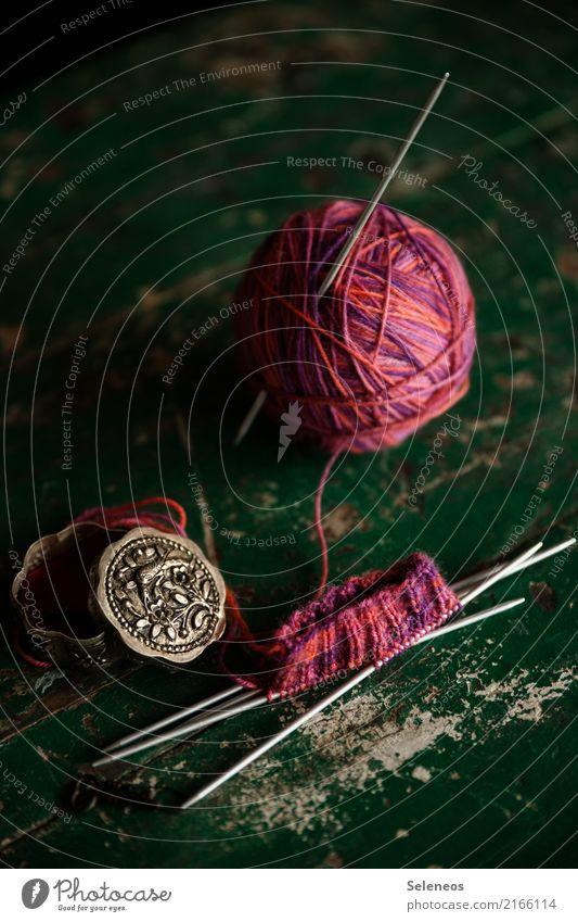 gegen kalte Füße Freizeit & Hobby Handarbeit stricken Strümpfe Wolle Wollknäuel Strickmuster Stricknadel Wärme weich rosa Innenaufnahme Detailaufnahme