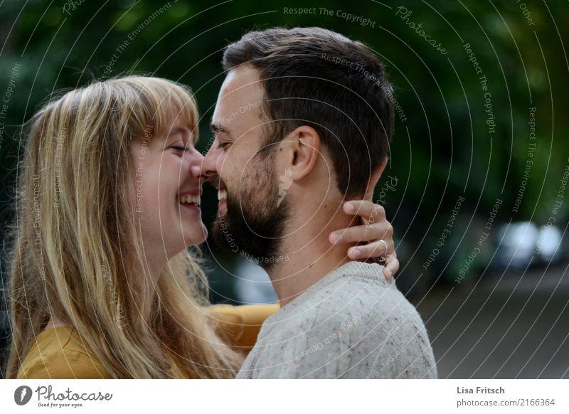 =liebefürimmer Mensch Jugendliche Junge Frau schön Junger Mann Erholung 18-30 Jahre Erwachsene Liebe Gefühle natürlich Glück Paar Zusammensein blond genießen