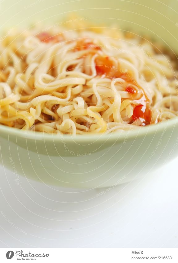 Sudelnuppe weiß Ernährung Lebensmittel heiß lang lecker Nudeln Abendessen Diät Mittagessen Schalen & Schüsseln Nahaufnahme Suppe Saucen Vegetarische Ernährung