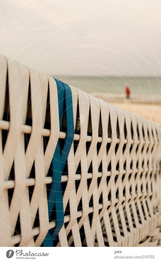 heute mal meer Mensch Natur Wasser Meer Strand Ferien & Urlaub & Reisen ruhig Einsamkeit Ferne Erholung Landschaft gehen Horizont Spaziergang Freizeit & Hobby Ostsee
