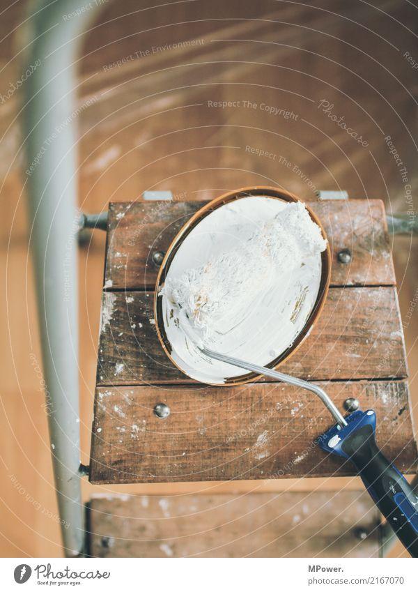 olle rolle Arbeit & Erwerbstätigkeit Beruf Handwerker Anstreicher 1 gebrauchen Renovieren Malerbetrieb Farbe Leiter Umbauen Baustelle neu Erneuerung streichen