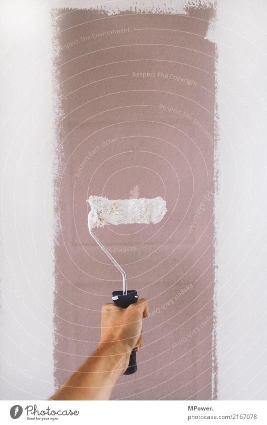 neuer anstrich 2 Arbeit & Erwerbstätigkeit Beruf Handwerker Anstreicher Mensch Arme 1 gebrauchen Renovieren Malerbetrieb Farbe Leiter Umbauen Baustelle
