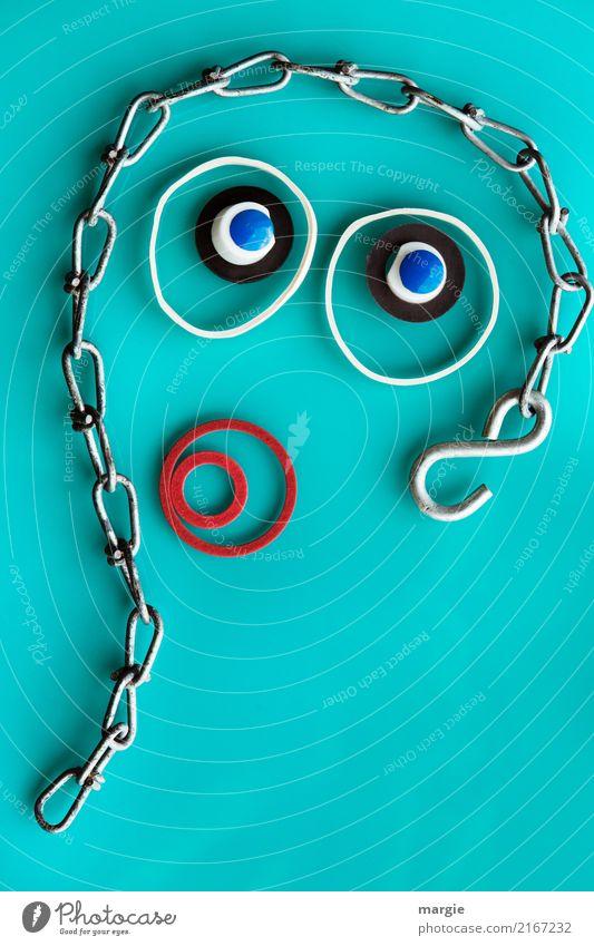 Emotion.. coole Gesichter: Unschuld vom Lande Frau Mensch grün Auge Erwachsene feminin Mund türkis