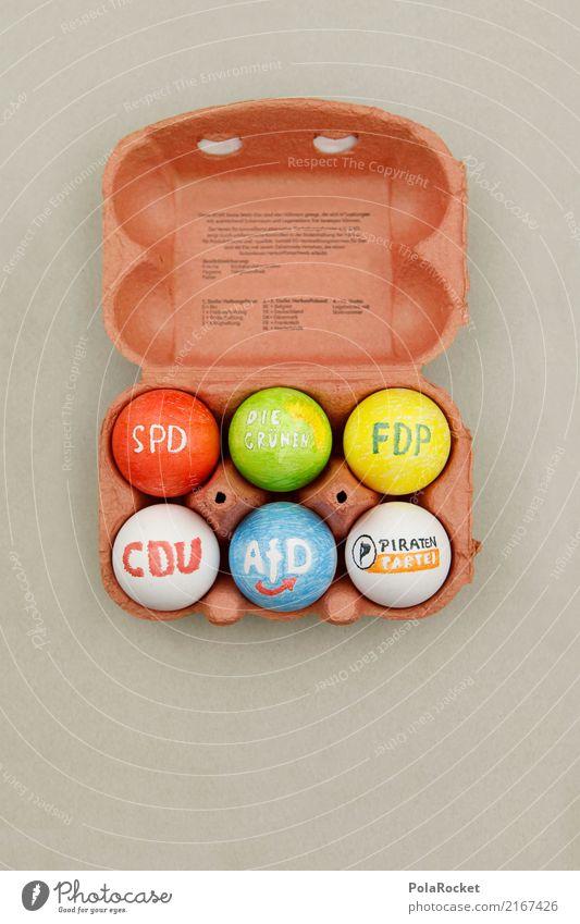#A# Warum Angie Wieder Die Wahl gewann... Kunst ästhetisch Ei Eierschale Eierkarton Eierpaletten Eierverkäufer Parteien Wahlen wählen Wahlkampf