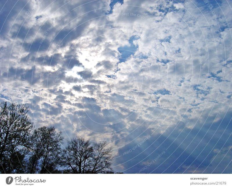 heaven Wolken Sonnenstrahlen weiß Licht Himmelsszene niedrige Wolken horizontale Wolken Beleuchtung blau hell Bodensee