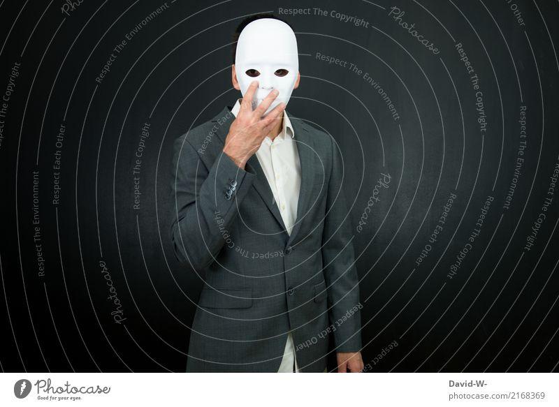 Maskenball Mensch maskulin Frau Erwachsene Leben Kopf Kunst Künstler Theaterschauspiel Schauspieler Anzug anonym verstecken verdecken Halloween Tarnung