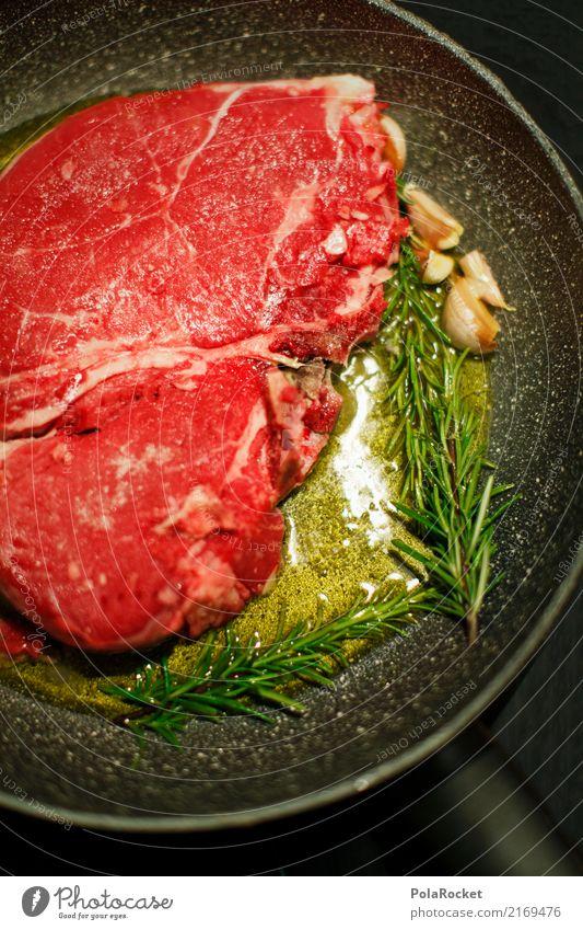 #A# vorher Kunst ästhetisch Fleisch Fleischgerichte Fleischfresser Fleischesser Fleischskandal Steak Steakhouse Rosmarin Knoblauch Olivenöl mediterran Pfanne