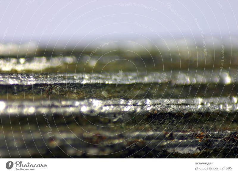 Schraubenzieher hell Metall dreckig Rost silber Furche fein abblättern Miniatur Vulkan Werkzeug Vulkankrater Schraubendreher