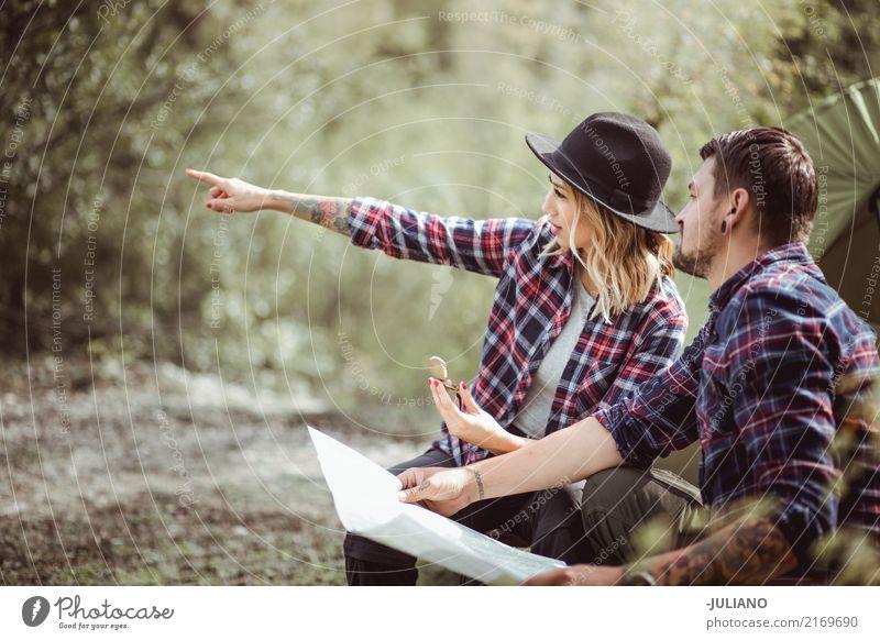 Mensch Frau Natur Ferien & Urlaub & Reisen Jugendliche Mann Junge Frau Sommer Junger Mann Sonne Freude 18-30 Jahre Erwachsene Lifestyle Sport Tourismus