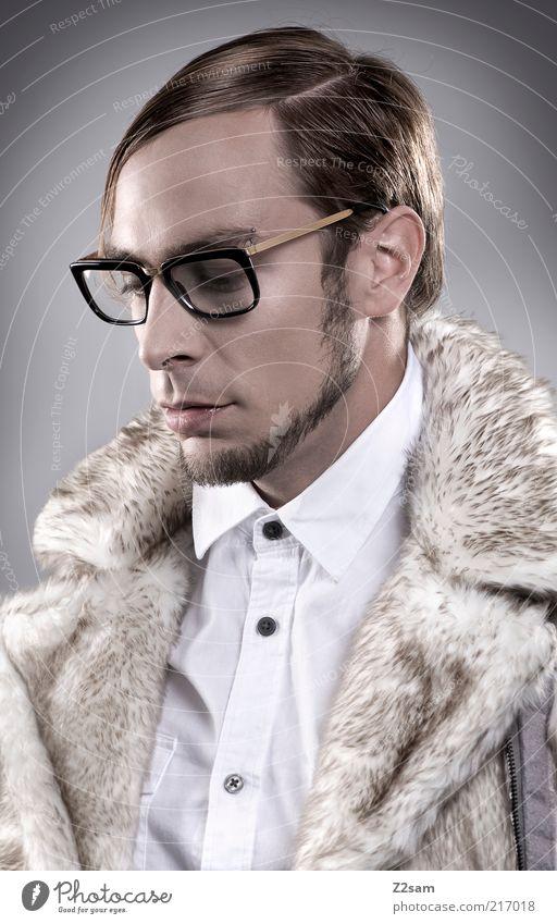 FALL WINTER 2010/2011 Stil Mensch maskulin Junger Mann Jugendliche 18-30 Jahre Erwachsene Mode Hemd Brille Haare & Frisuren Bart authentisch elegant trendy