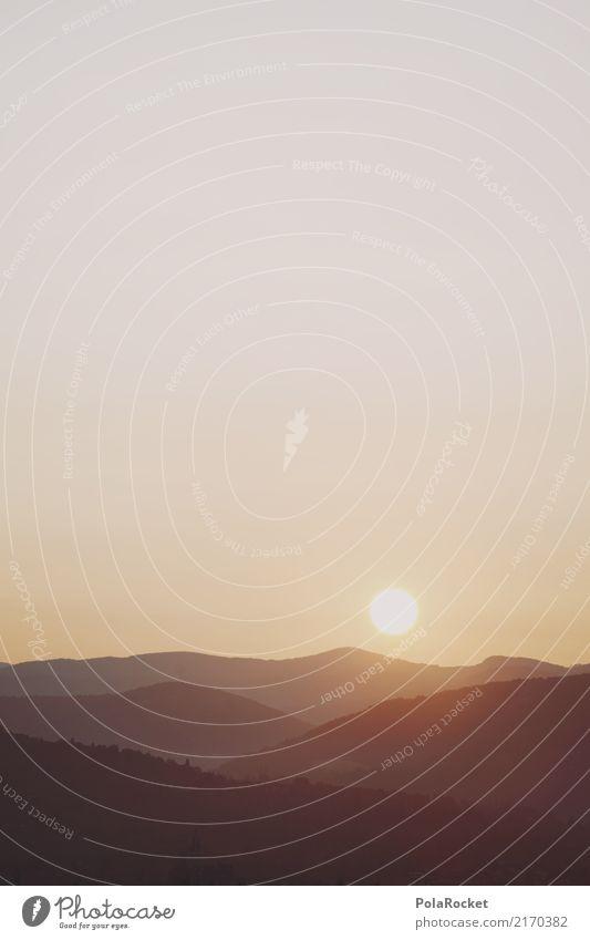#A# Sonnenberg Umwelt Natur Landschaft Klima Klimawandel Schönes Wetter ästhetisch Sonnenstrahlen Berge u. Gebirge Bergsteigen Sonnenaufgang Wärme Warmes Licht
