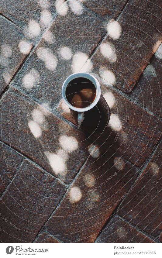 #A# Kaffeepause Kunst ästhetisch Pause Kaffeetrinken Kaffeetasse Licht Lichtspiel Erholung Tasse genießen Farbfoto Gedeckte Farben Innenaufnahme Studioaufnahme
