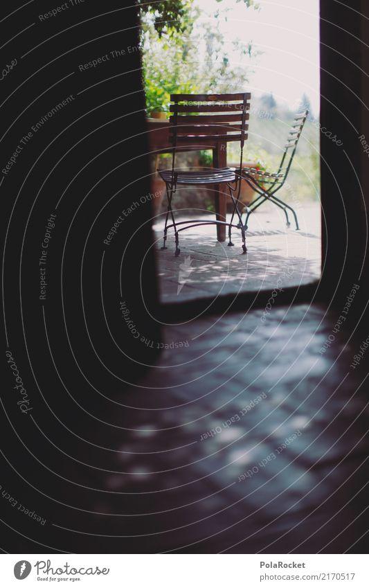 #A# home Sommer Erholung ruhig ästhetisch Idylle Aussicht Tisch Italien Stuhl Sommerurlaub mediterran verstecken Terrasse Kunstwerk friedlich Italienische Küche