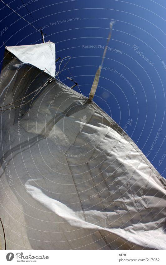 beyond the sea [12] Freizeit & Hobby Segeln Ferien & Urlaub & Reisen Ausflug Freiheit Sommer Sommerurlaub Sport Wassersport Schönes Wetter Wind blau Seil