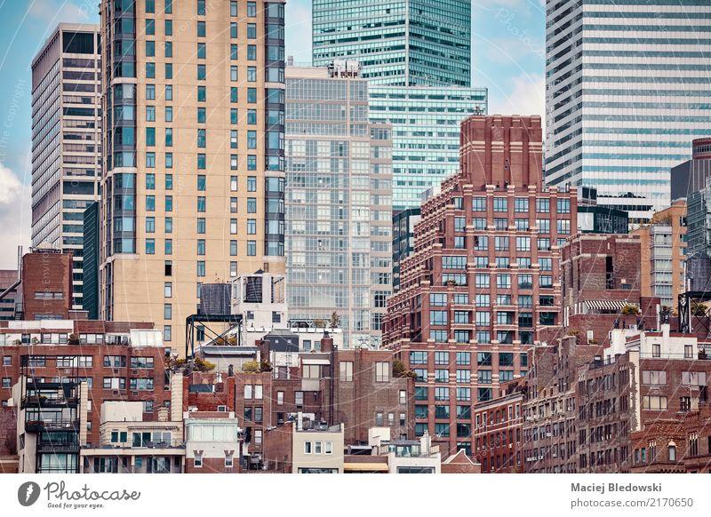 Sommer Stadt Haus Fenster Architektur Wand Lifestyle Gebäude Mauer Fassade Design Wohnung Büro Hochhaus Aussicht USA