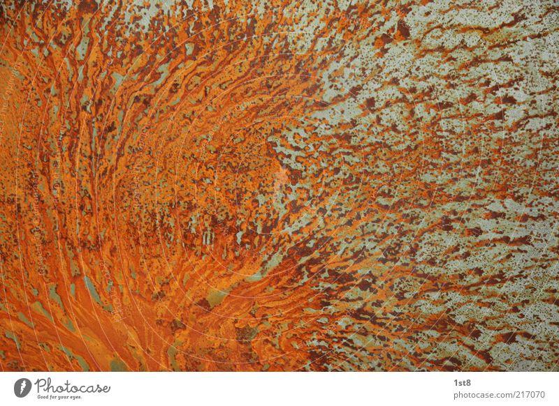 rusty schön alt Metall Hintergrundbild ästhetisch Verfall Rost bizarr Fleck Eisen verwittert Dinge Muster Strukturen & Formen Eisenoxid