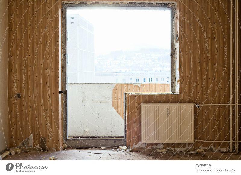 Individuell III ruhig Ferne Leben kalt Wand Stil Fenster träumen Mauer Tür Zeit Lifestyle ästhetisch Wandel & Veränderung Kitsch Häusliches Leben