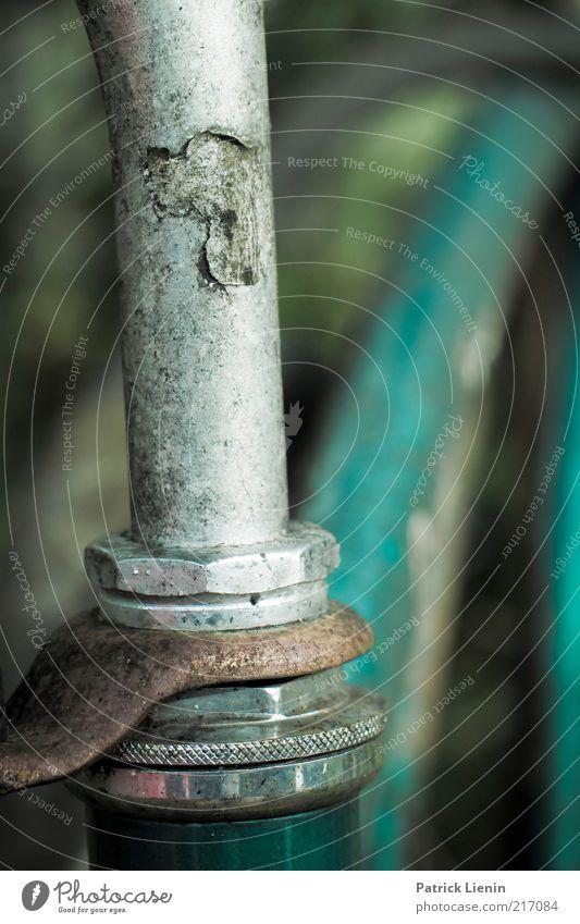 [HH 10.1] - fahruntüchtig Lifestyle alt dreckig einfach retro rund trashig trist Rad Lenker Stab Rost vergangen Schraube kaputt Verkehrsmittel Gedeckte Farben