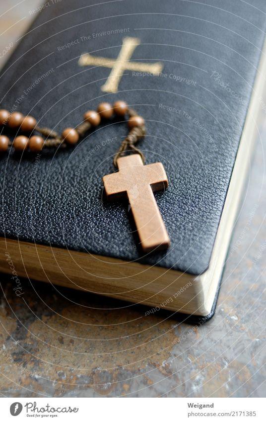 Rosenkranz Zufriedenheit Erholung ruhig Meditation Holz hören braun Gebet Religion & Glaube Katholizismus Christentum Trauer Gottesdienst Buch Lebensziel
