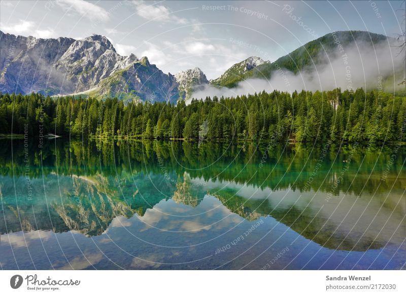 Fusine 3 Ferien & Urlaub & Reisen Sommer Wasser Landschaft Erholung Ferne Wald Berge u. Gebirge Umwelt Tourismus See Ausflug wandern genießen Abenteuer Italien
