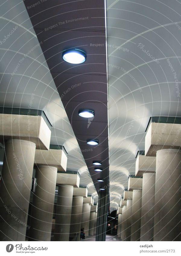 Lampen I Wand Architektur trist
