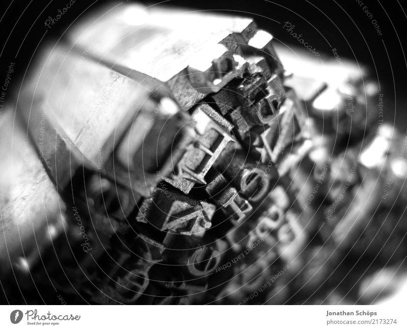 Bleibuchstaben alt klein Kunst Design Schriftzeichen ästhetisch Buchstaben Vergangenheit Typographie Zeitung antik Druck ausgestorben Druckerei Schriftsetzer
